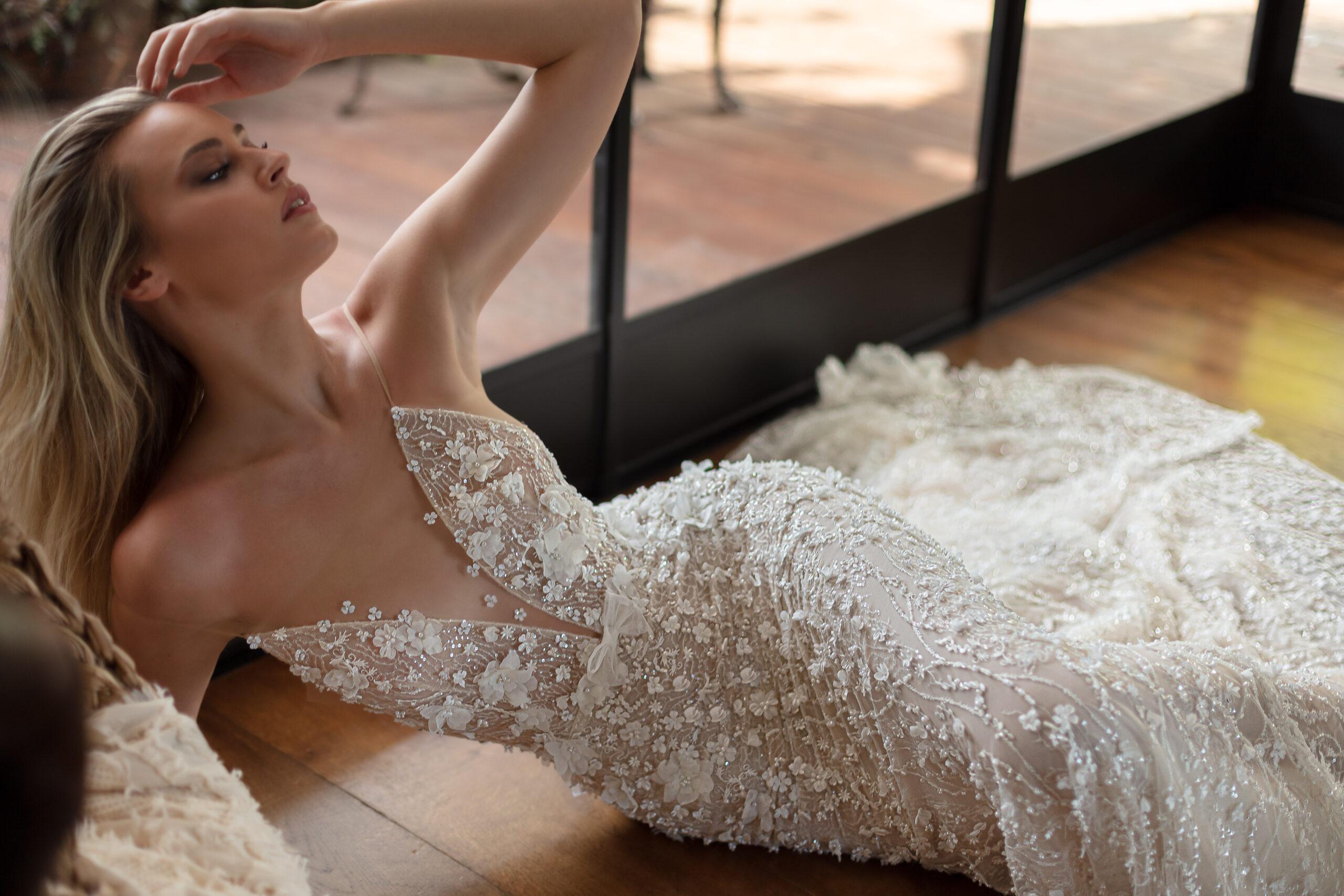 Rochie de mireasă Neta Dover la salon Blue Bridal
